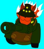 Patton eggy flatshaded by raziel chan-d3bwutr