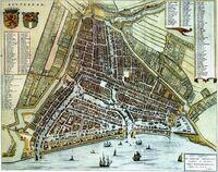 Rotterdam-kaart-anno1652