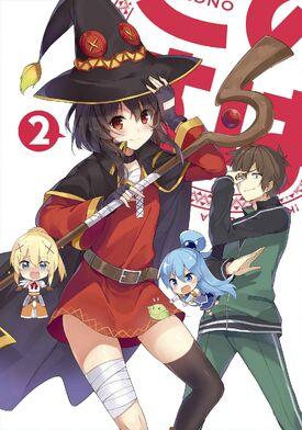 Konosuba BD 2 Cover