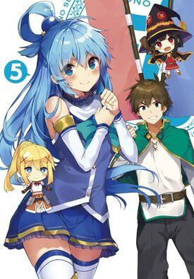 Konosuba BD 10 Cover