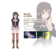 Yunyun Game Character
