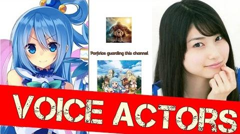 KonoSuba Voice Actors - God's Blessing on This Wonderful World! 2 Cast voiceactors