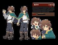Kazuma Character
