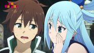 Aqua and Kazuma