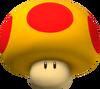 Mega Mushroom - Koopa Kart Wii