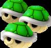 Triple Green Shell - Koopa Kart Wii