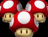 Triple Mushroom - Koopa Kart Wii