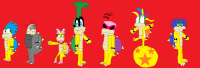 The 7 Koopalings
