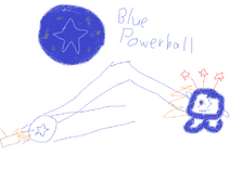 Blue powerball