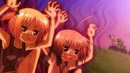 Tomonori and Haruna performing Voodoo Dance