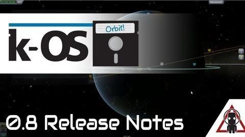 KOS 0.8 Maneuvering Toward Destiny