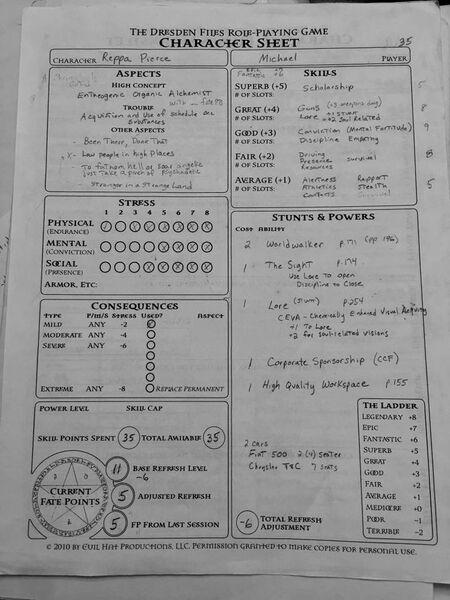 Reppa Sheet