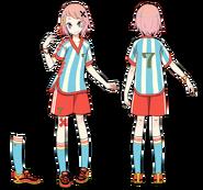 Sora Kuzunoha soccer i think