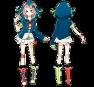 Sora Kuzunoha karasu hood