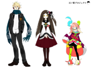 Main characters front