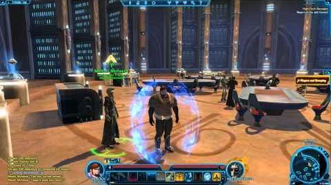 Jedi Knight Saber Ward - Star Wars The Old Republic TOR