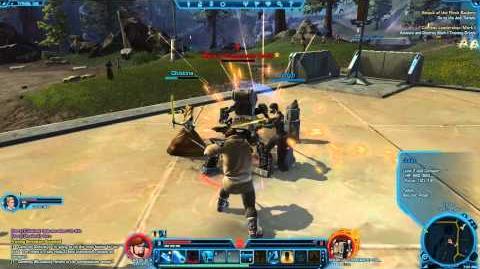 Star Wars The Old Republic TOR - Jedi Knight Lightsaber Combat