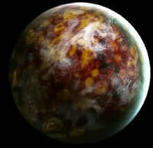 Coruscan-planeta