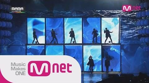 EXO-Black Pearl Tell Me What Is Love 중독(Overdose) at 2014 MAMA