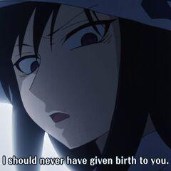 Kumiko shows her hatred toward her daughter