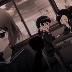 Haruka is bullied by two of her former female classmates