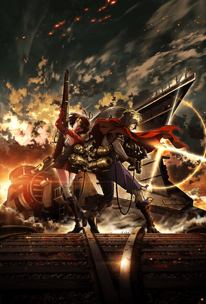 Koutetsujou no Kabaneri Key Visual 1