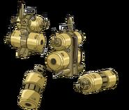 Steam Gun Backpack Engine