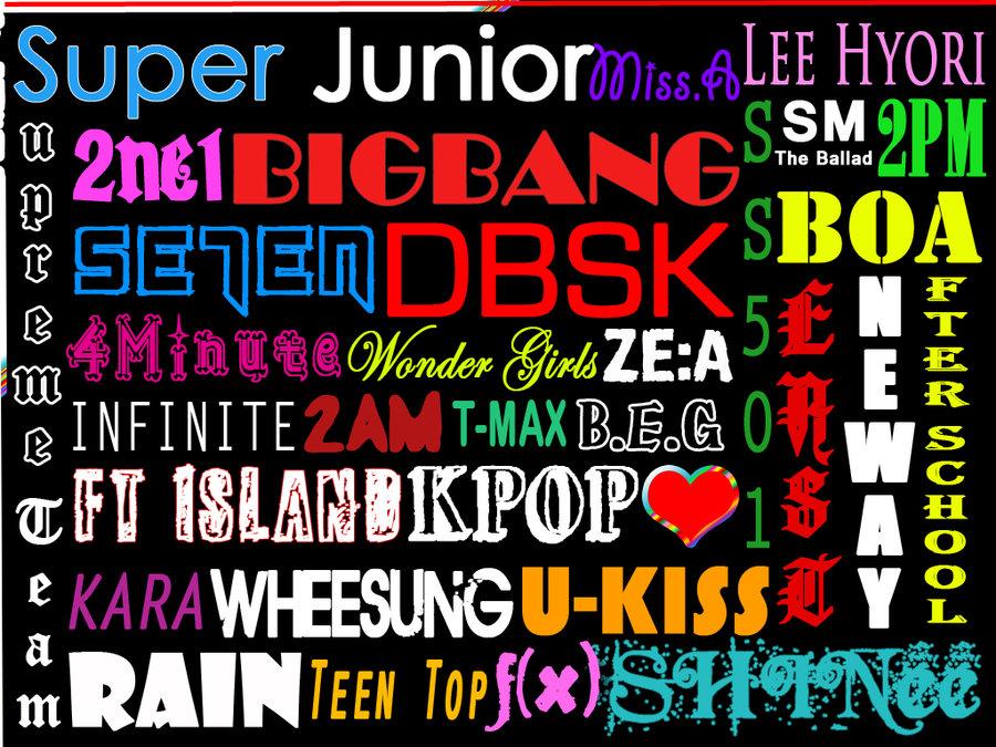 Kpop Bands Collage Ezu Photo Mobile