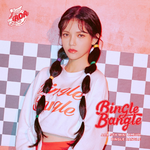 AOA Jimin Bingle Bangle promo photo play ver
