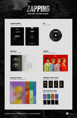 FTISLAND Zapping album packaging