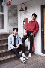 ENOi Avin & Gun Bloom duo promo photo