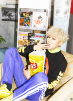 Block B Zico Yesterday promo photo