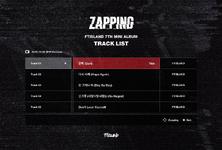 FTISLAND Zapping track list
