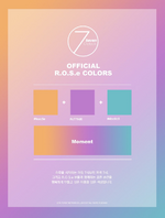 Seven O'Clock official R.O.S.e colors