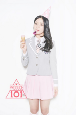 Produce 101 Choi Yubin promo photo 3