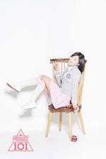 Produce 101 Ma Eun Jin promo photo (2)