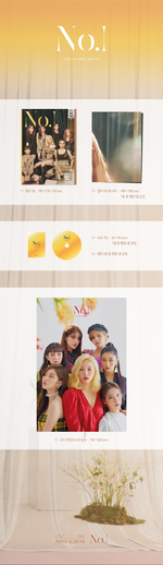 CLC No.1 album packaging preview
