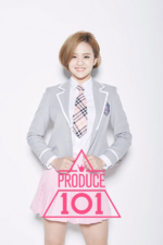 Produce 101 Lim Hyo Sun promo photo (2)