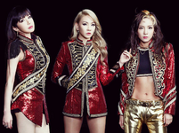 2NE1 Crush promotional photo