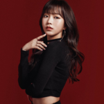 Girls Next Door Kim So Hee Deep Blue Eyes promo photo