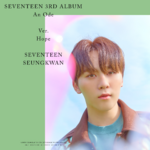 SEVENTEEN Seungkwan An Ode promo photo 2