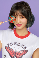 TWICE Momo What is Love? promotional photo