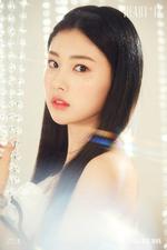 IZONE Kang Hye Won Heart IZ concept photo Sapphire ver