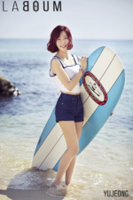 LABOUM Yujeong Summer Special promo photo