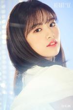 IZONE An Yu Jin Heart IZ concept photo Sapphire ver