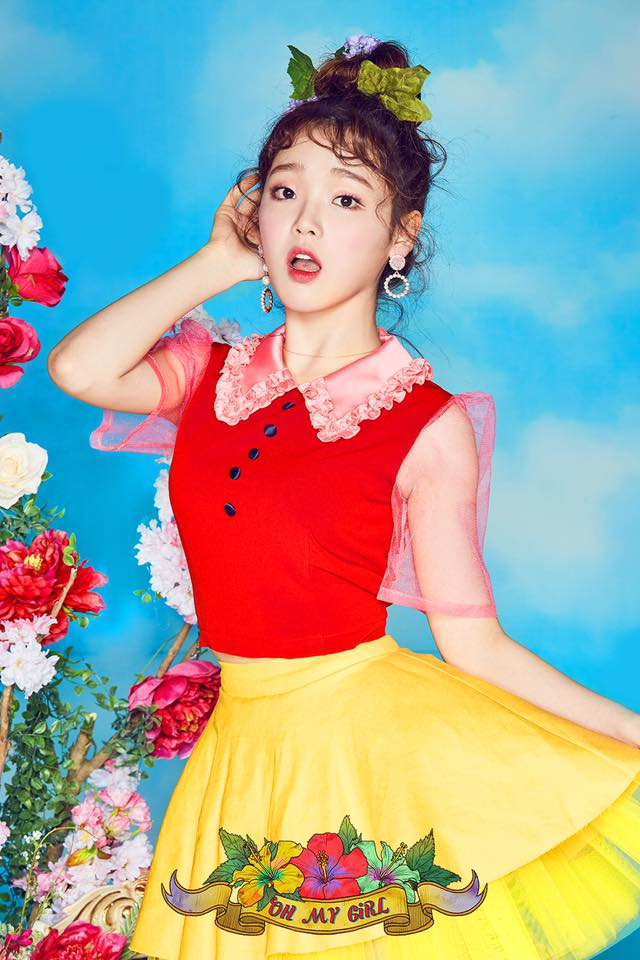 OH MY GIRL Seunghee Coloring Book Photo