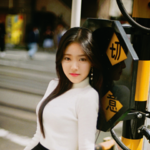 LOONA HyunJin debut promo photo