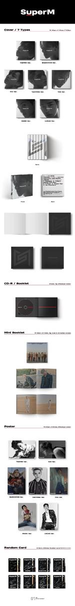 SuperM SuperM album packaging (Korean ver.)