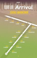 GOT7 Flight Log Arrival schedule