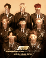 ATEEZ Treasure Ep.Fin All To Action concept photo 2